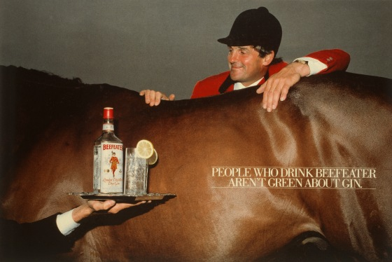 Beefeater %22Harvey Smith%22 ad