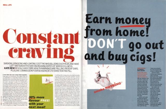 The Observer:Advertising: CDD: Smoking
