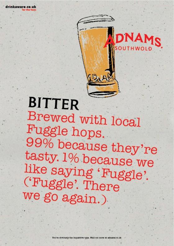 Adnams Beer Posters %22Bitter%22-01