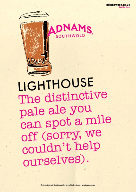 Adnams Beer Posters %22Lighthouse%22-01