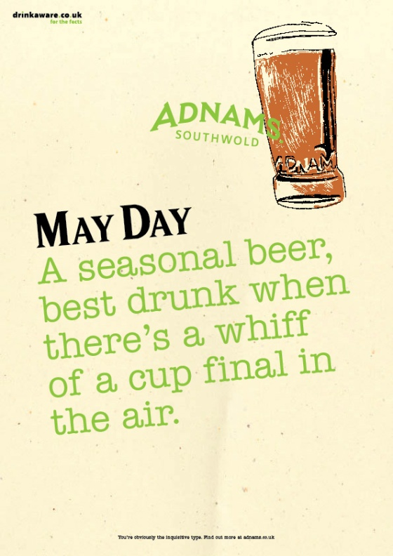 Adnams Beer Posters %22May Day%22-01