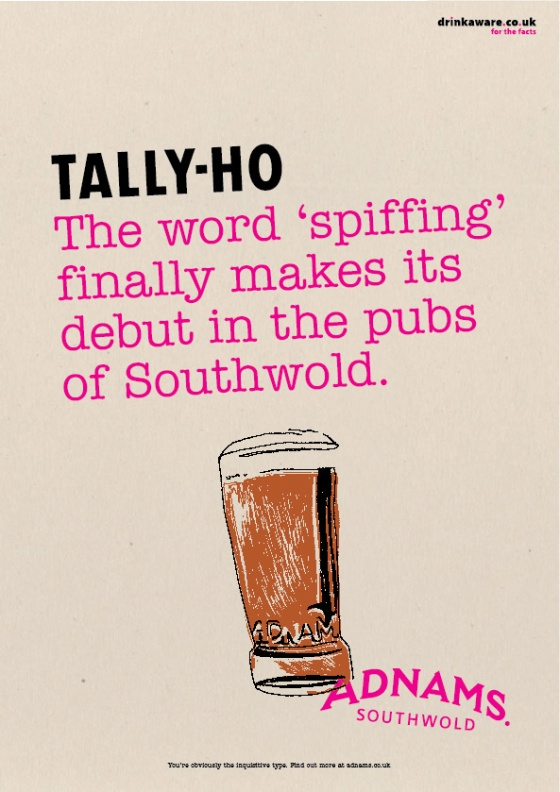 Adnams Beer Posters %22Tally Ho%22-01