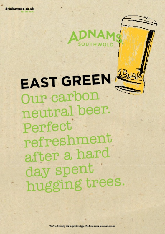 Adnams Beer Posters%22East Green%22-01