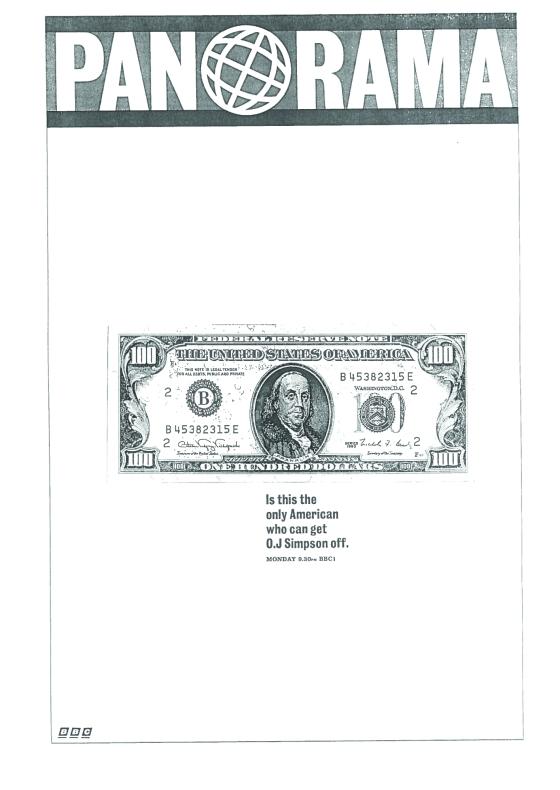Panorama dollar
