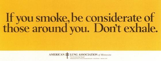 Fallon McElligott, Anti Smoking 'Exhale'-01