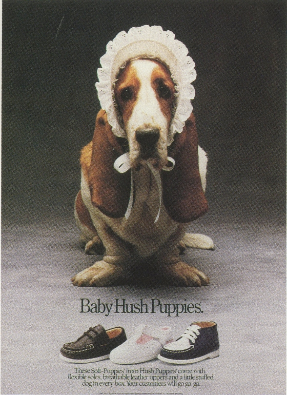 Fallon McElligott, Hush Puppies %22Baby'-01