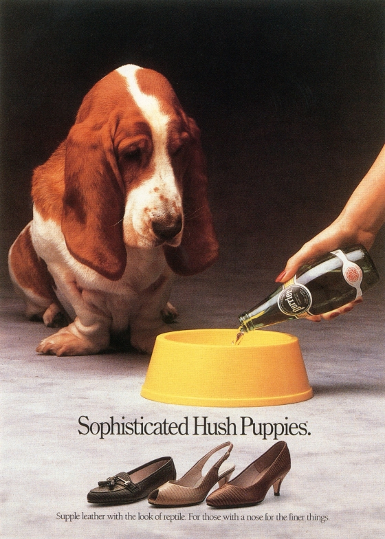 Fallon McElligott, Hush Puppies, 'Sophisticated'-01