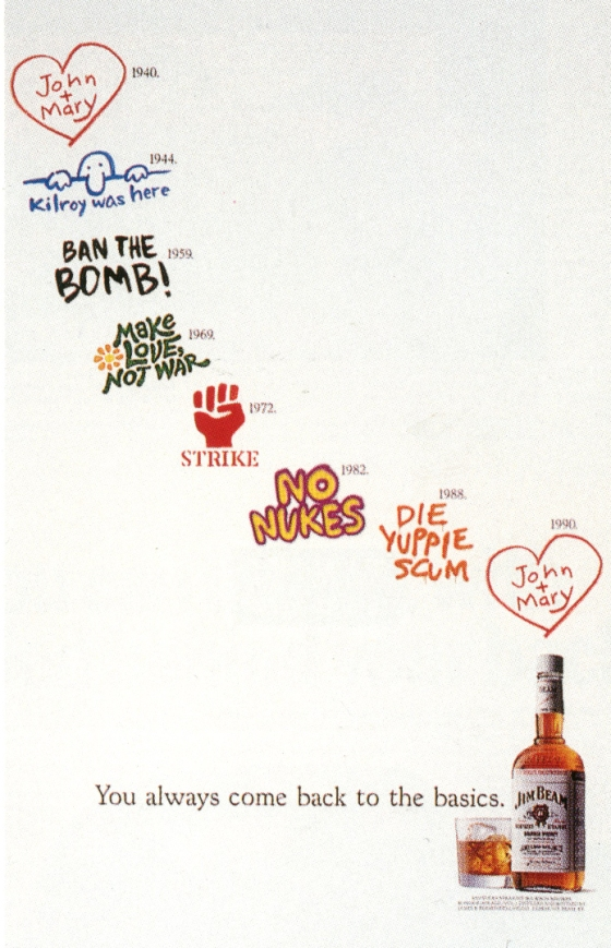 Fallon McElligott, Jim Beam 'Graffitti'-01