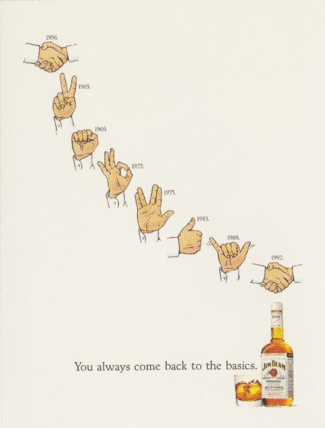 Fallon McElligott, Jim Beam 'Hands'-01