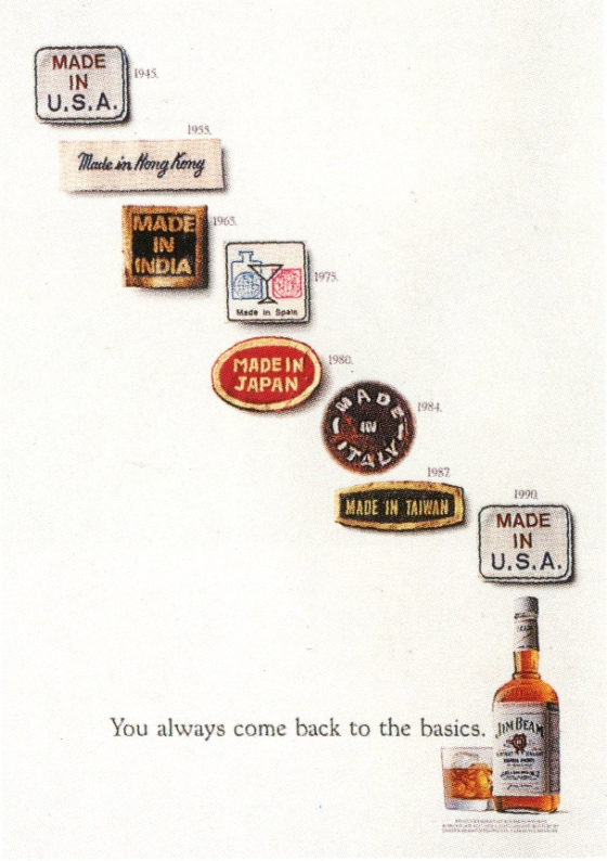 Fallon McElligott, Jim Beam 'Made In...'-01