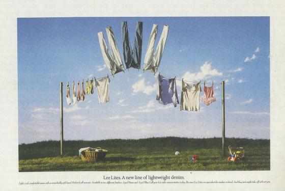 Fallon McElligott, Lee 'Washing Line' ad-01