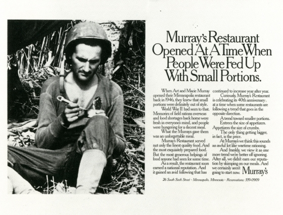 Fallon McElligott, Murray's, 'Vietnam'-01