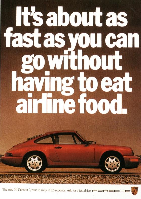 Fallon McElligott, Porsche 'Airline'-01