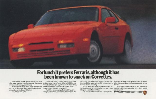 Fallon McElligott, Porsche 'Corvettes'-01