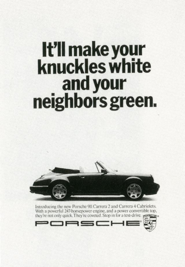 Fallon McElligott, Porsche 'Knuckles'-01