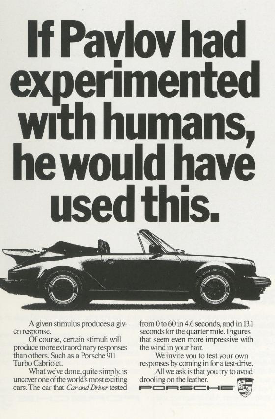 Fallon McElligott, Porsche 'Pavlov'-01
