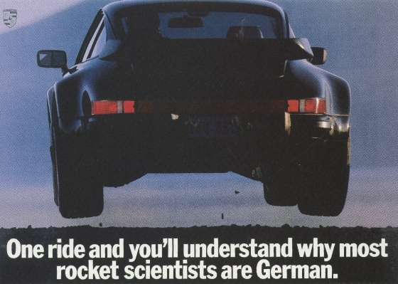 Fallon McElligott, Porsche 'Rocket Scientists'-01
