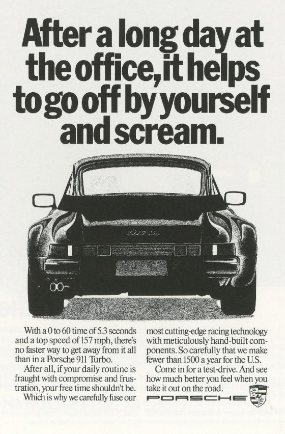 Fallon McElligott, Porsche 'Scream'-01