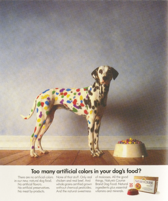 Fallon McElligott, Purina 'Colours'-01