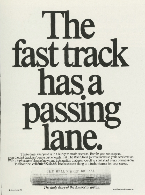 Fallon McElligott, WSJ 'Fast Track'-01