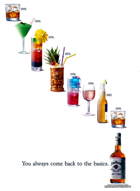 JIM BEAM 'Drinks' ad