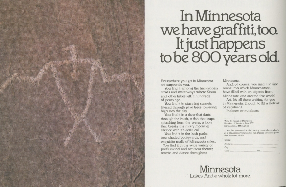 Tom McElligott, 'Graffiti' - Minnesota.Nancy Rice-01