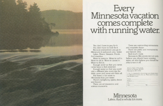 Tom McElligott, 'Running Water' - Minnesota.Nancy Rice-01
