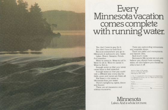 Tom McElligott, 'Running Water' - Minnesota.Nancy Rice-01