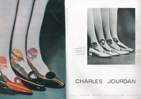 03-1967 Charles Jourdan Guy Bourdin Paris Vogue - March 1967