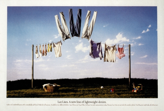 Fallon McElligott, Lee Lite 'Washing Line'-01