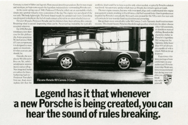 Fallon McElligott, Porsche 'Classic'-01