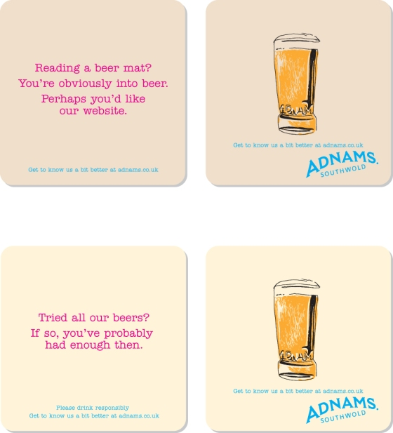 beer mats two