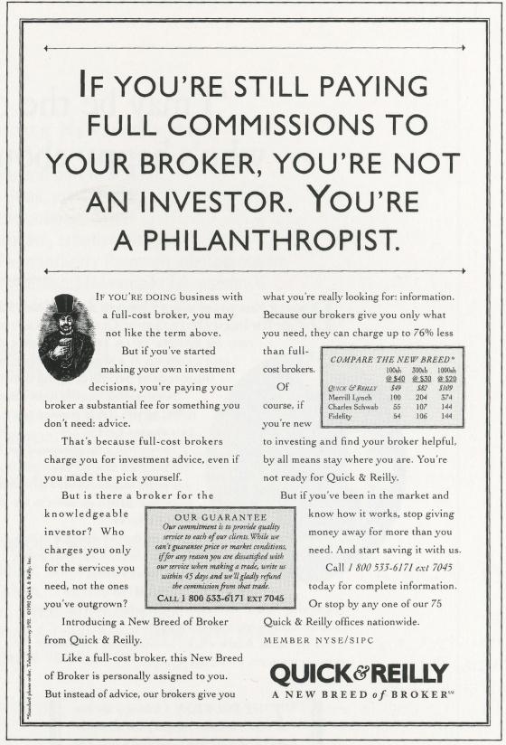 Kirshenbaum Bond - Quick & Reilly 'Philanthropist'-01