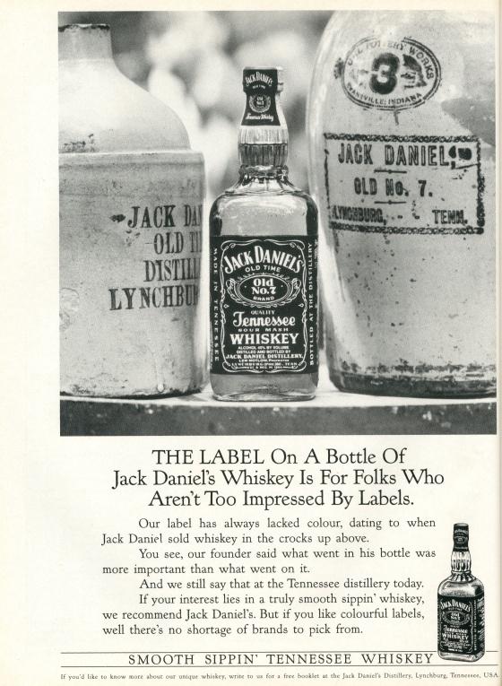 Jack Daniels 'Labels' BMP-01
