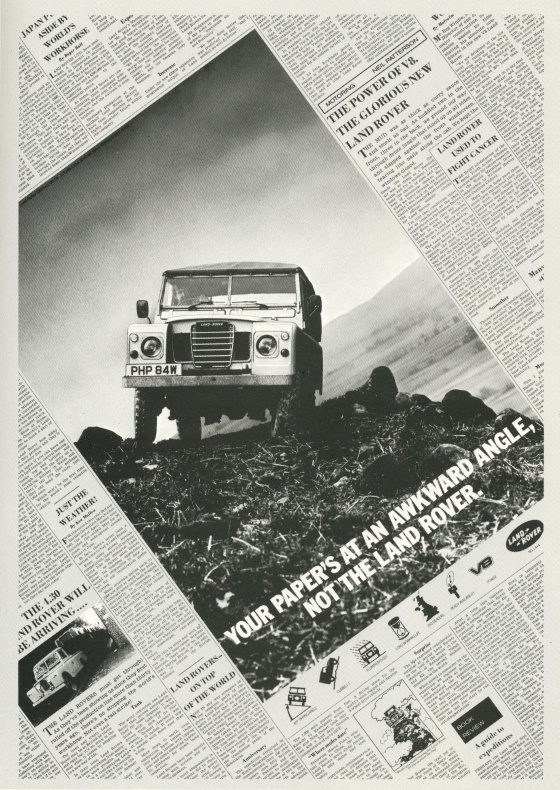 Land Rover 'Wonky Page' TBWA-01