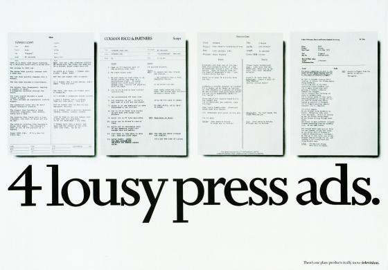 ITV PRESS ADS