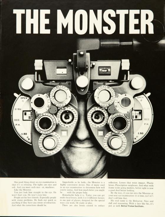 Better Vision Institute 'Monster' Len Sirowitz, DDB