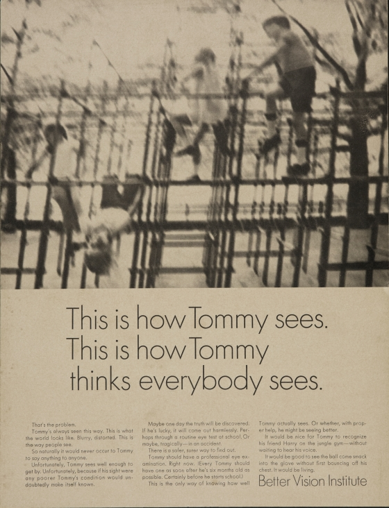 Better Vision Institute 'Tommy' Len Sirowitz, DDB
