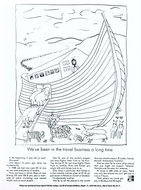 El Al 'We've Been In The Travel Business..' Len Sirowitz:Bob Levenson, DDB