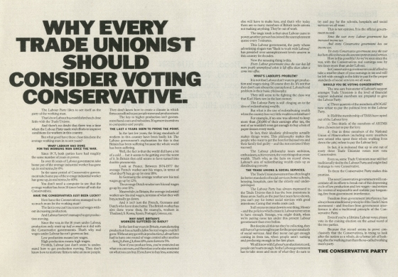 Jeremy Sinclair, Conservatives 'Trade Unionist' Saatchi & Saatchi-01