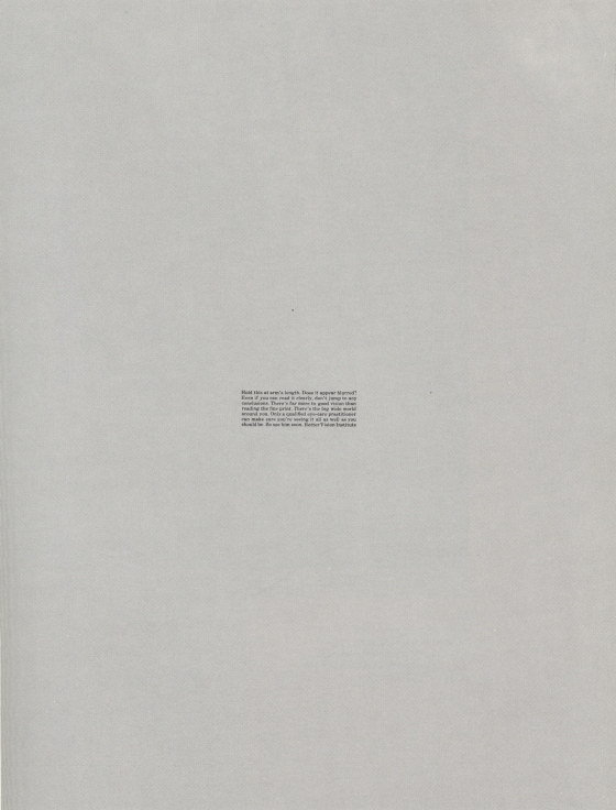Len Sirowitz, Better Vision Institute, DDB, Small Print-01