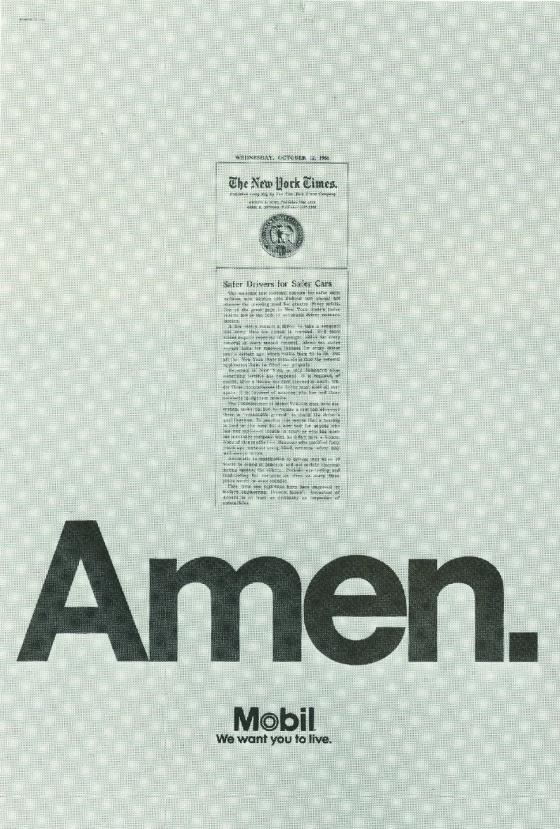 Mobil 'Amen' Len Sirowitz, DDB-01