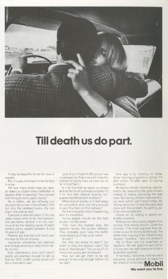 Mobil 'Till Death...' Len Sirowitz, DDB-01