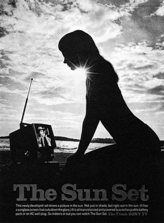 Sony 'Sun Set*' Len Sirowitz, Bob Levenson, DDB