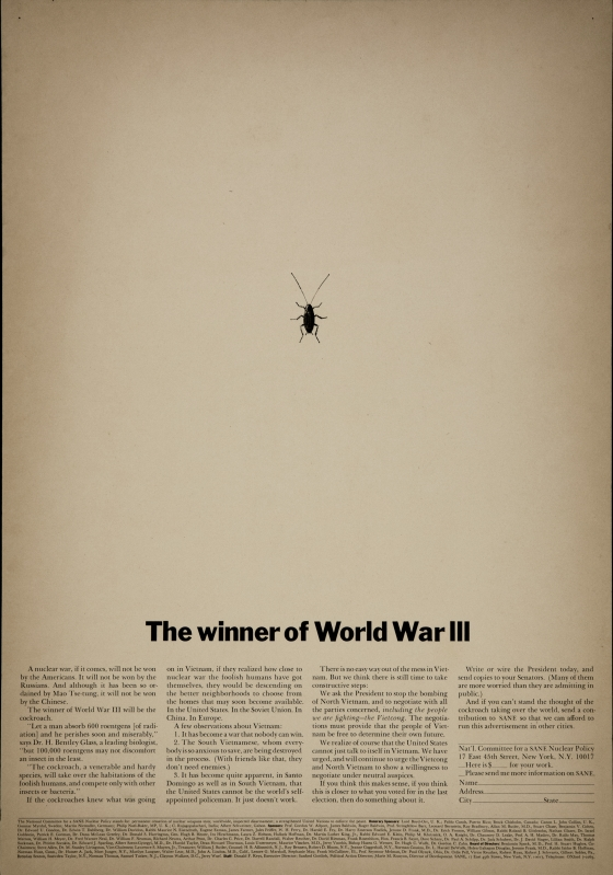 'The Winner of WW3' Len Sirowitz, DDB