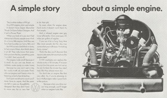 VW 'A Simple Story...' Len Sirowitz, DDB-01