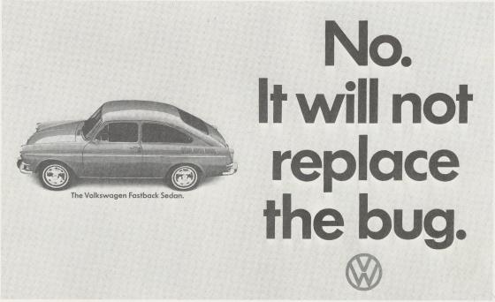 VW 'No. It Won't' Len Sirowitz, DDB-01