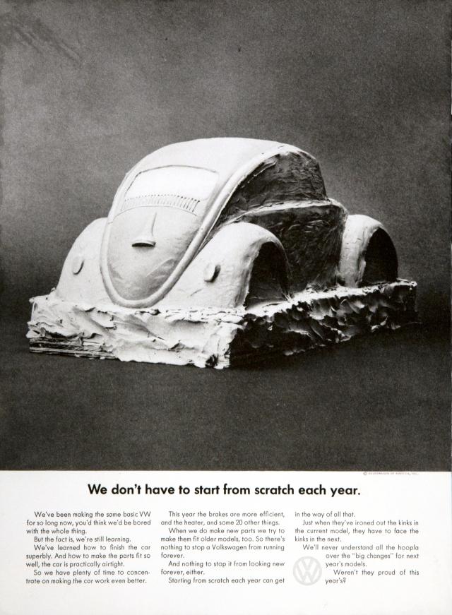 VW 'Scratch' Len Sirowitz, DDB