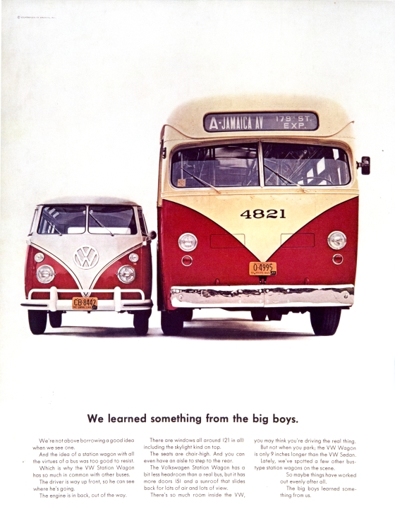 VW 'We learned' Len Sirowitz, DDB