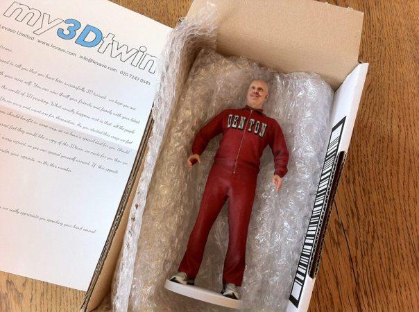 Mark Denton in plastic